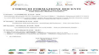 CORSO DI FORMAZIONE PER DOCENTI GENERIAMO UNA NUOVA ITALIA