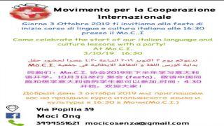 Corsi di lingua Italiana 2019-2020