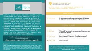 """LabRom (Laboratorio Nazionale sulla """"questione rom"""") sbarca a Cosenza. Al centro la questione abitativa"""